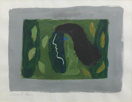 Breon O'Casey, 'Green Head', 1995