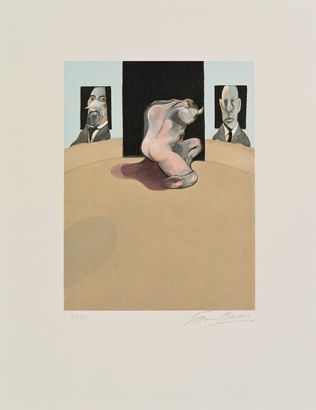 Francis Bacon, 'Triptych 1974-77 (Center Panel)', 1981