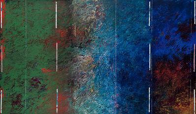 Park Yungnam, 'Gogh+Mondrian-Ⅰ', 1988