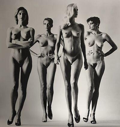 Helmut Newton, 'Sie Kommen (Naked)', 1981