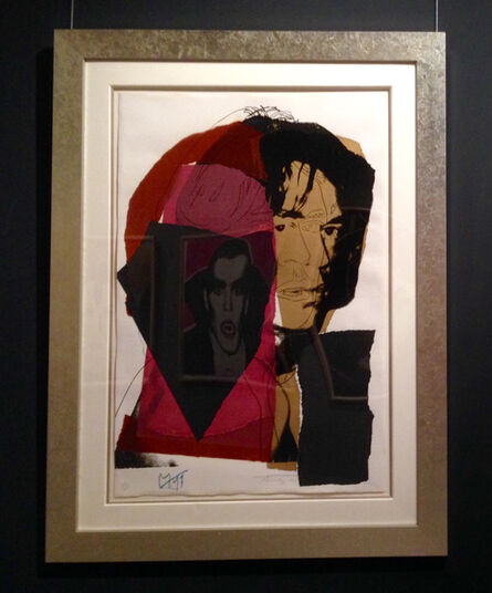 Andy Warhol, 'Mick Jagger (FSII.139)', 1975