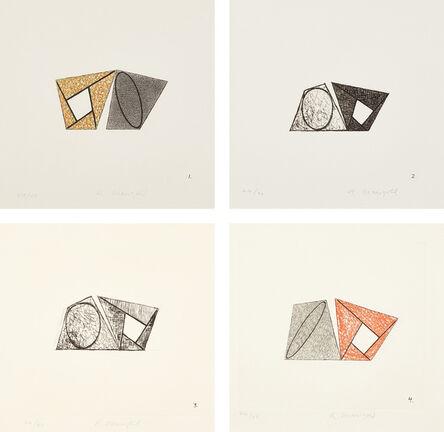 Robert Mangold (b. 1937), 'Pages', 1989
