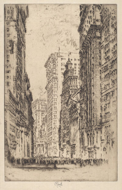Joseph Pennell, 'The Stock Exchange', 1904