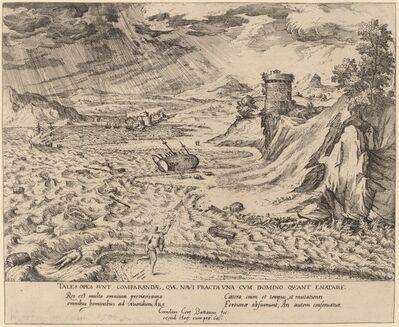 Cornelis Cort, 'The Shipwreck', probably 1553