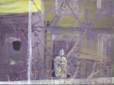 Merlin James, 'Scaffolding', undated