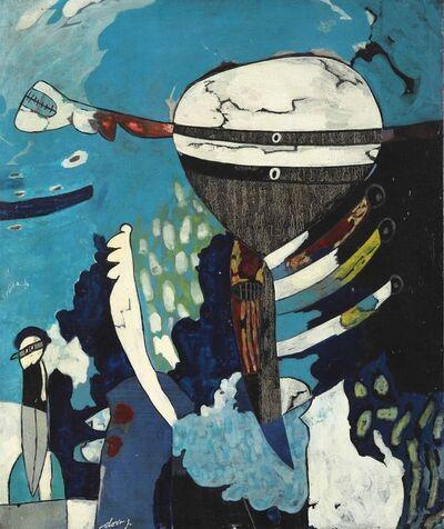 Gianni Dova, '...Uccello', 1961
