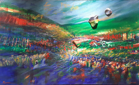 Yoram Raanan, 'Crossing the Red Sea', 1980-1989