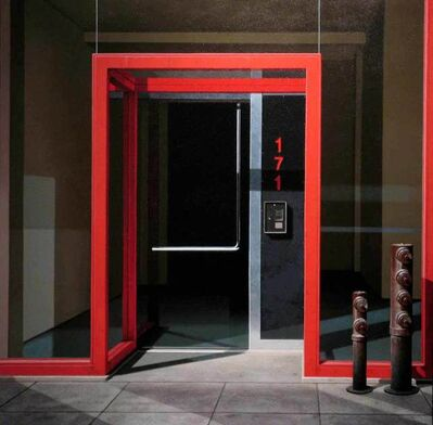 Gus Heinze, 'Red Entrance', 2006