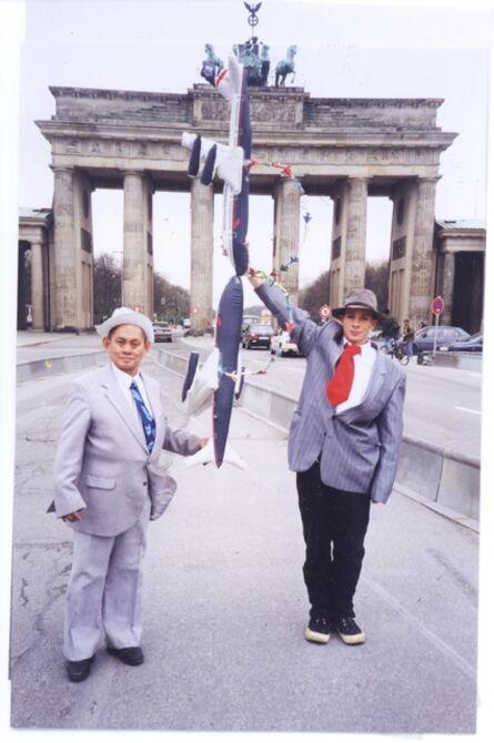 Mondriaan FanClub, 'B, Brandenburg Gate, Berlin, 1997', 1997