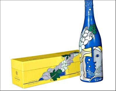 Roy Lichtenstein, 'Champagne Bottle and Presentation Case ', 1985