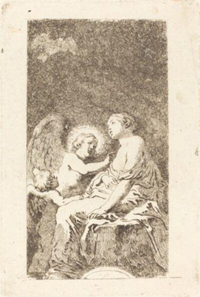 Jean-Honoré Fragonard after Marco Cardisco, 'Saint Catherine of Alexandria (Saint Catherine d'Alexandrie)'
