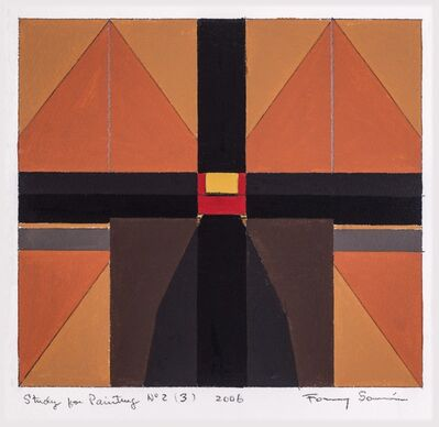 Fanny Sanin, 'Study for painting N.° 2 (3)', 2006