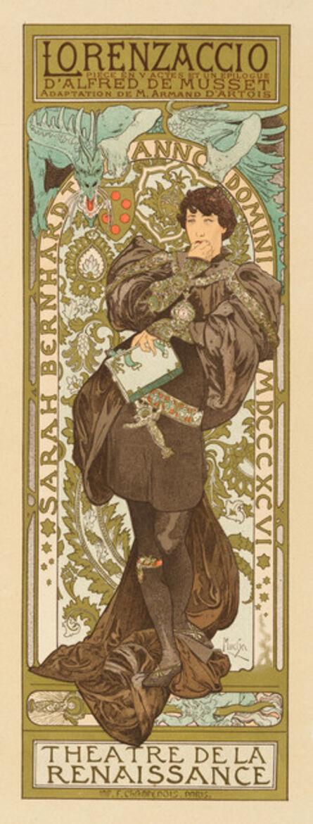 Alphonse Mucha, 'LORENZACCIO', 1898