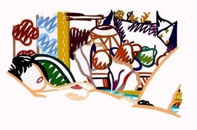 Tom Wesselmann, 'Monica with Cezanne', 1993