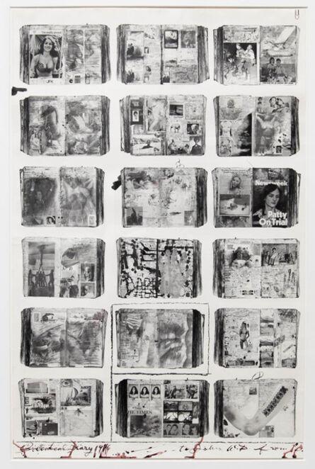 Peter Beard, 'Bicentennial Diaries (B)', 1995