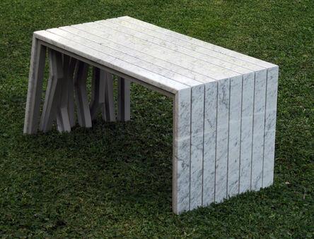 Pedro Barrail, 'Keep Walking Bench', 2012