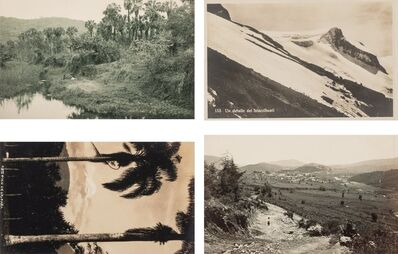Hugo Brehme, 'A Group of Four Mexican Postcards (4 works)'