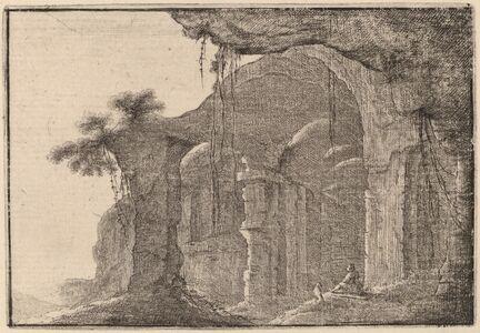 Gilles Neyts, 'Ruins of an Amphitheater'