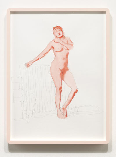Luke Butler, 'Nude From Life, March 2014', 2014