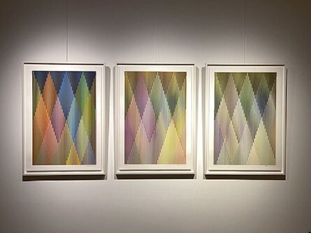 Carlos Cruz-Diez, 'Couleur Additive Perseus', 2017