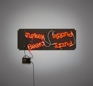 Jason Rhoades, 'Fuzzy Puddle/Turkey Beard', 2003