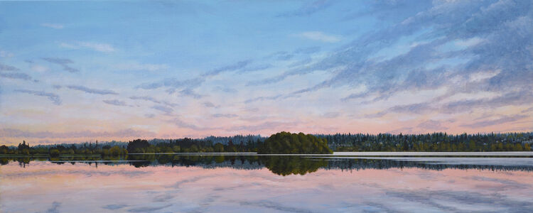 Fred Holcomb, 'North Shore Green Lake', 2020