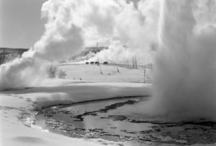 Philip Augustin, 'Bison & Geysers – Yellowstone National Park, 1997', 1997