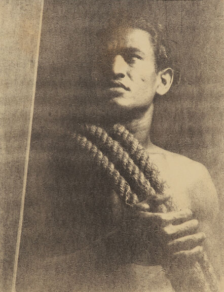 Lionel Wendt, 'Untitled (Man with rope)', ca. 1935
