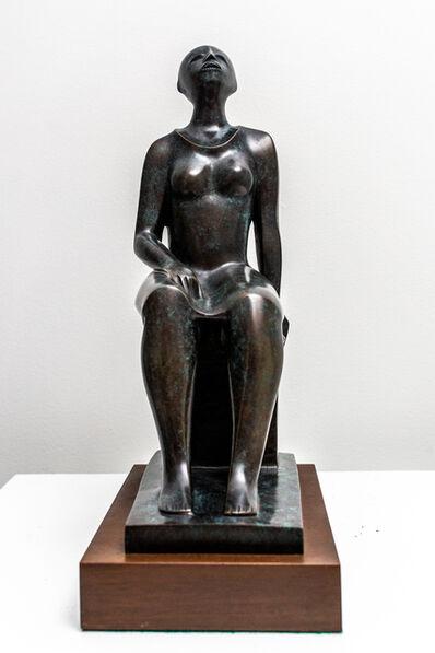 Elizabeth Catlett, 'Seated Woman', ca. 2000