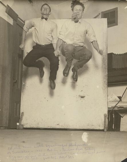 George Watson, ' First Synchronized Powder Flash', 1920