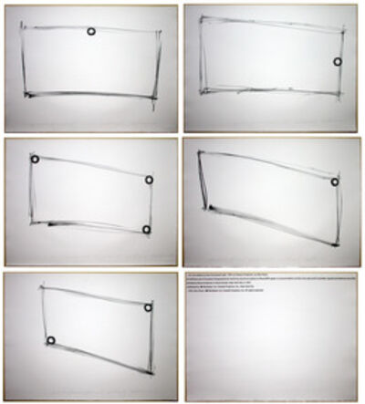 Dan Flavin, 'for one walled circular fluorescent light (to Heiner Friedrich)', 1974