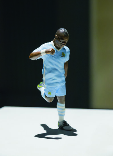 Burak Delier, 'Hommage to Balotelli's Missed Trick', 2013