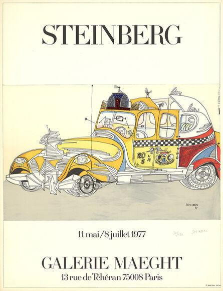 Saul Steinberg, 'Taxi', ca. 1977