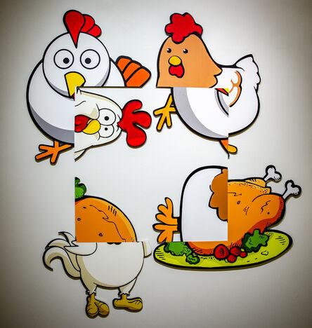 Urs Fischer, 'Chicken Rotation', 2016