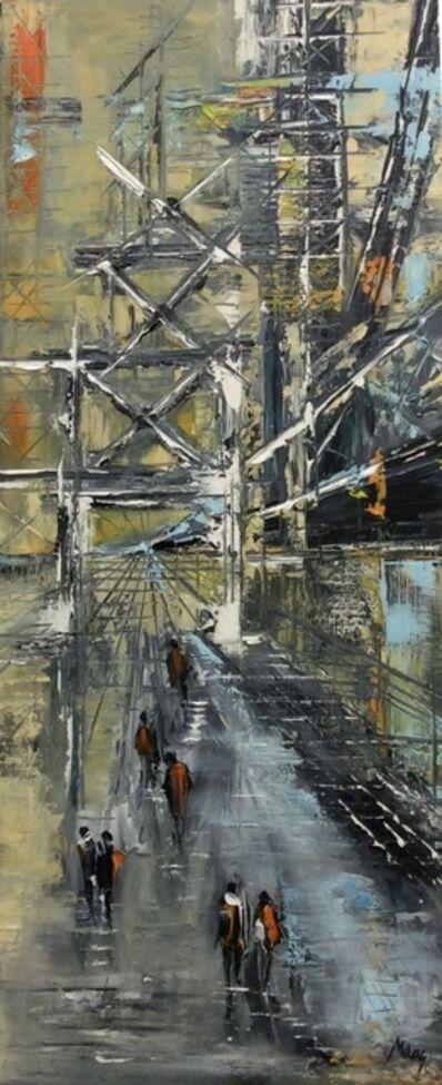 Ivana Milosevic, 'Construction 2', 2017