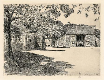 Childe Hassam, 'The Old Mulford Farm (East Hampton)', 1929