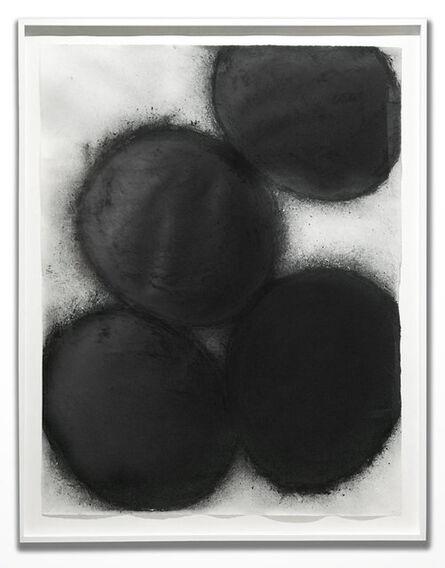 Donald Sultan, 'Black Eggs', 1998