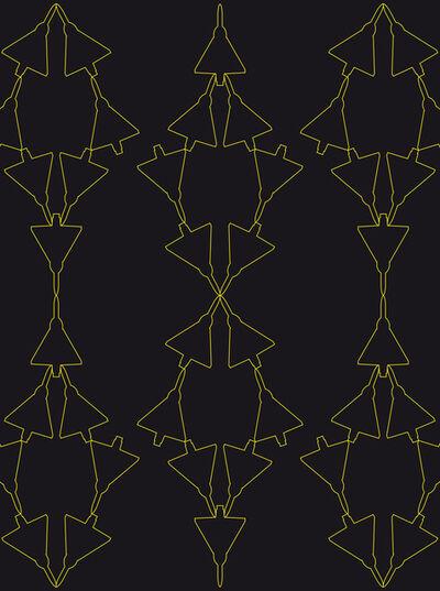 Zoulikha Bouabdellah, 'Mirage Graphic I', 2012