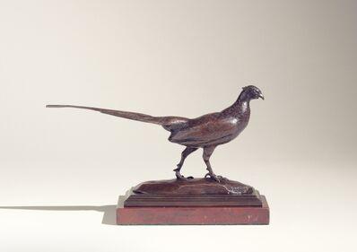 Antoine-Louis Barye, 'Walking Pheasant', ca. 1845