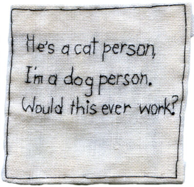 Iviva Olenick, 'He's a cat person', 2010