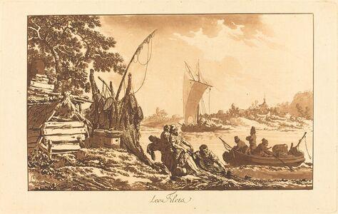 Jean-Baptiste Le Prince, 'Les filets', 1771