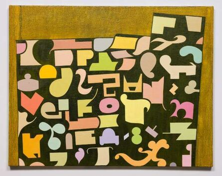 Thomas Nozkowski, 'Untitled (9-70)', 2017