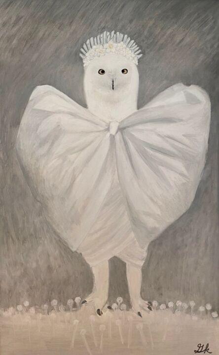 Gemma Kahng, 'Snow Owl Bride', 2021