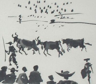 Pablo Picasso, 'Los Cabestros Retiran al Toro Manso (Halters Withdraw the Tamed Bull)', 1959