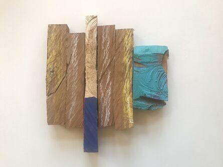 Stuart Farmery, 'Sedimentary #4 Blue Horizon', 2017