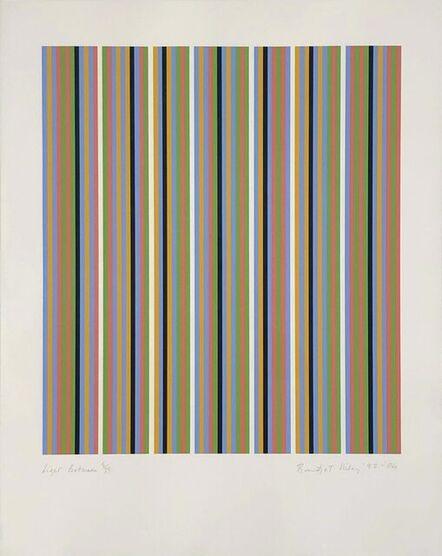 Bridget Riley, 'Light Between', 1982-2004