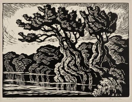 Birger Sandzén, 'River Sunset', 1939
