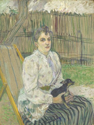 Henri de Toulouse-Lautrec, 'Lady with a Dog', 1891