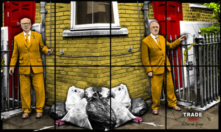 Gilbert and George, 'TRADE', 2020