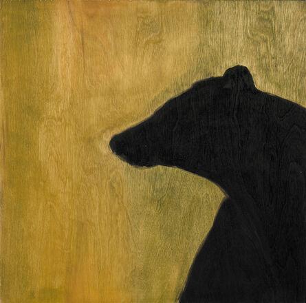Susan Brearey, 'Black Bear Silhouette, (Montana)', 2010